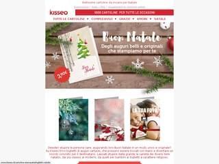 Newsletter Natale