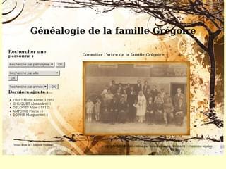 Généalogie de la famille Grégoire