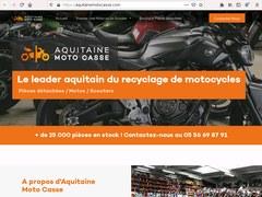 Aquitaine Moto Casse