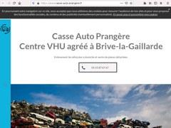 Casse Auto Prangère