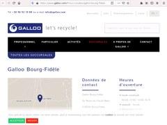 Galloo France Sa Bourg-Fidele