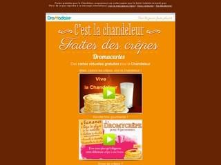 Newsletter Chandeleur