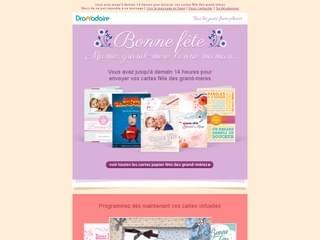 Newsletter fête des grand-mères