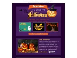 Envoyez des cartes joyeux halloween