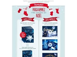 Envoyez des cartes Joyeux Noël