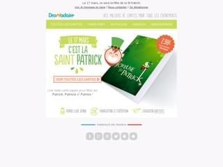 cartes Saint Patrick