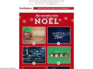 Cartes de Noël pour enfants